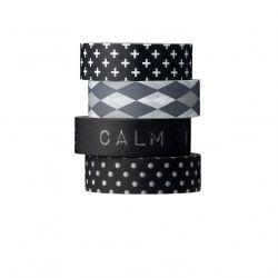 black patterns - designové pásky