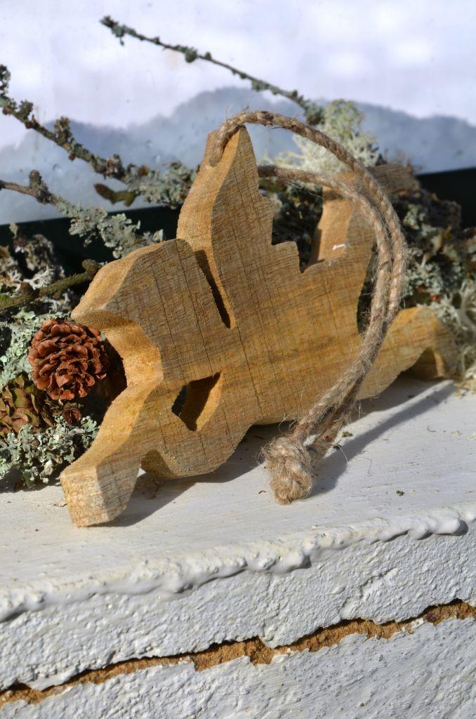 Dřevěný andělíček