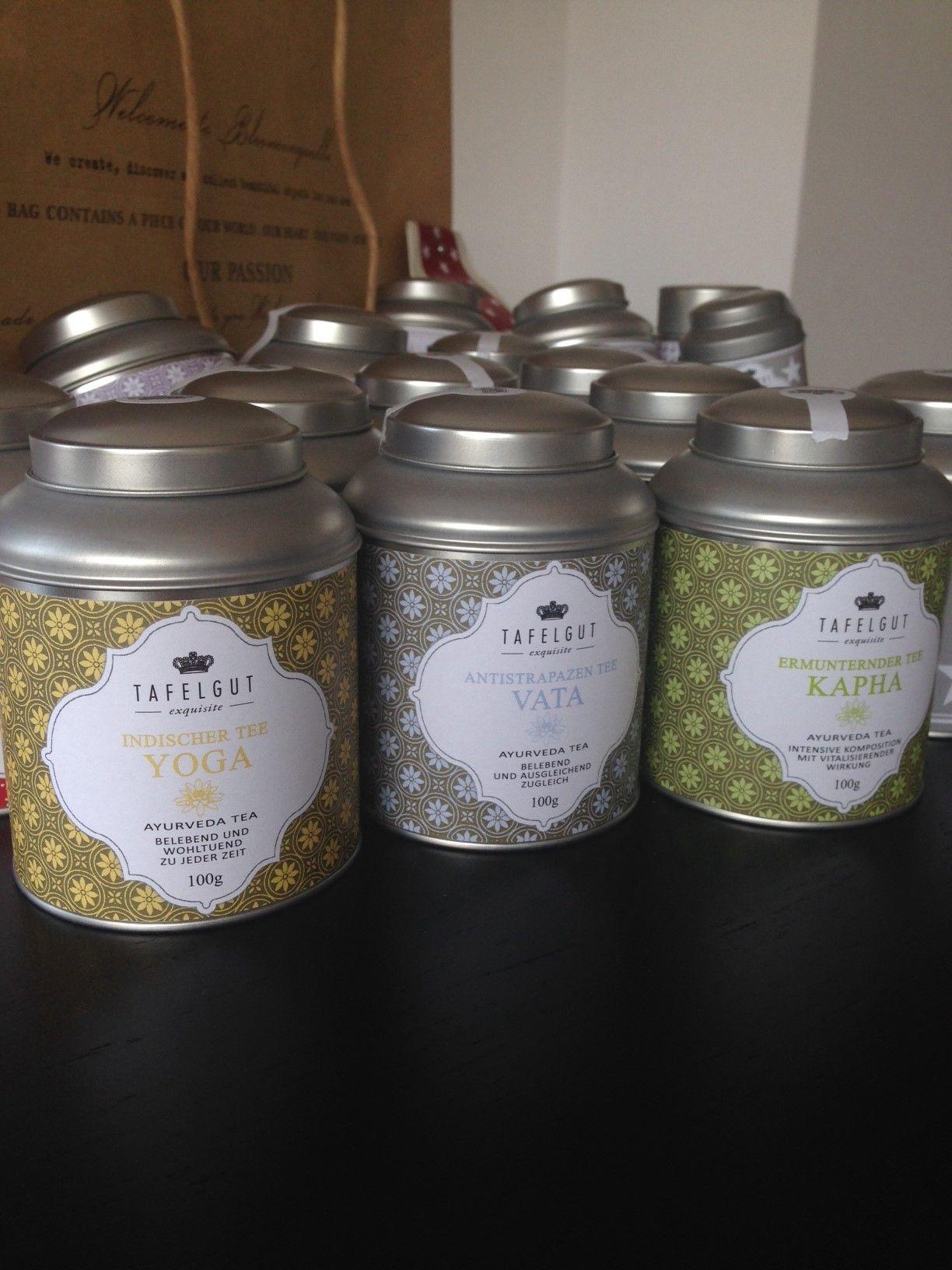 Byliiné ajurvédské čaje v dárkovém balení