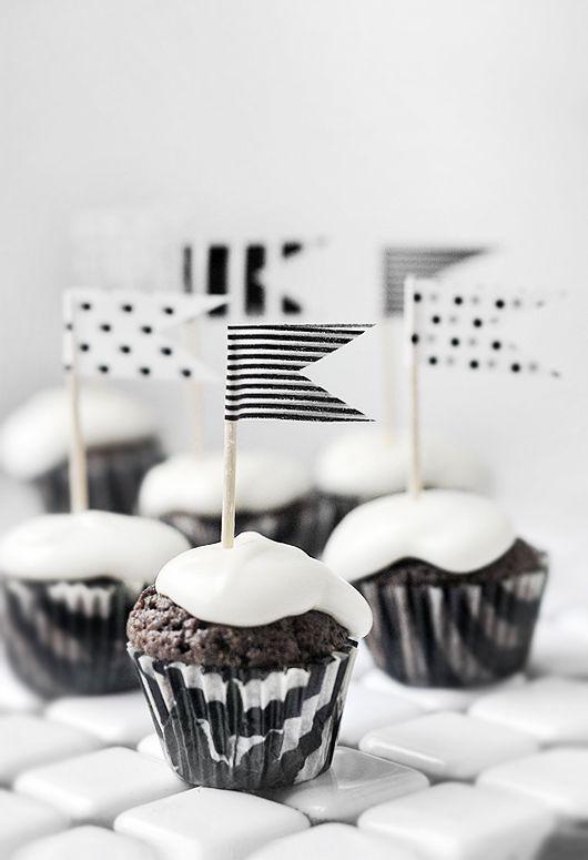 Cupcakes s washi páskou... mlsejte i očima