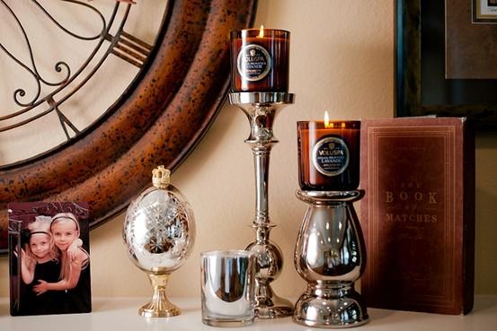 Svíčky Voluspa v domě Arntsenových, foto: Michal Czerwonka pro The Wall Street Journal
