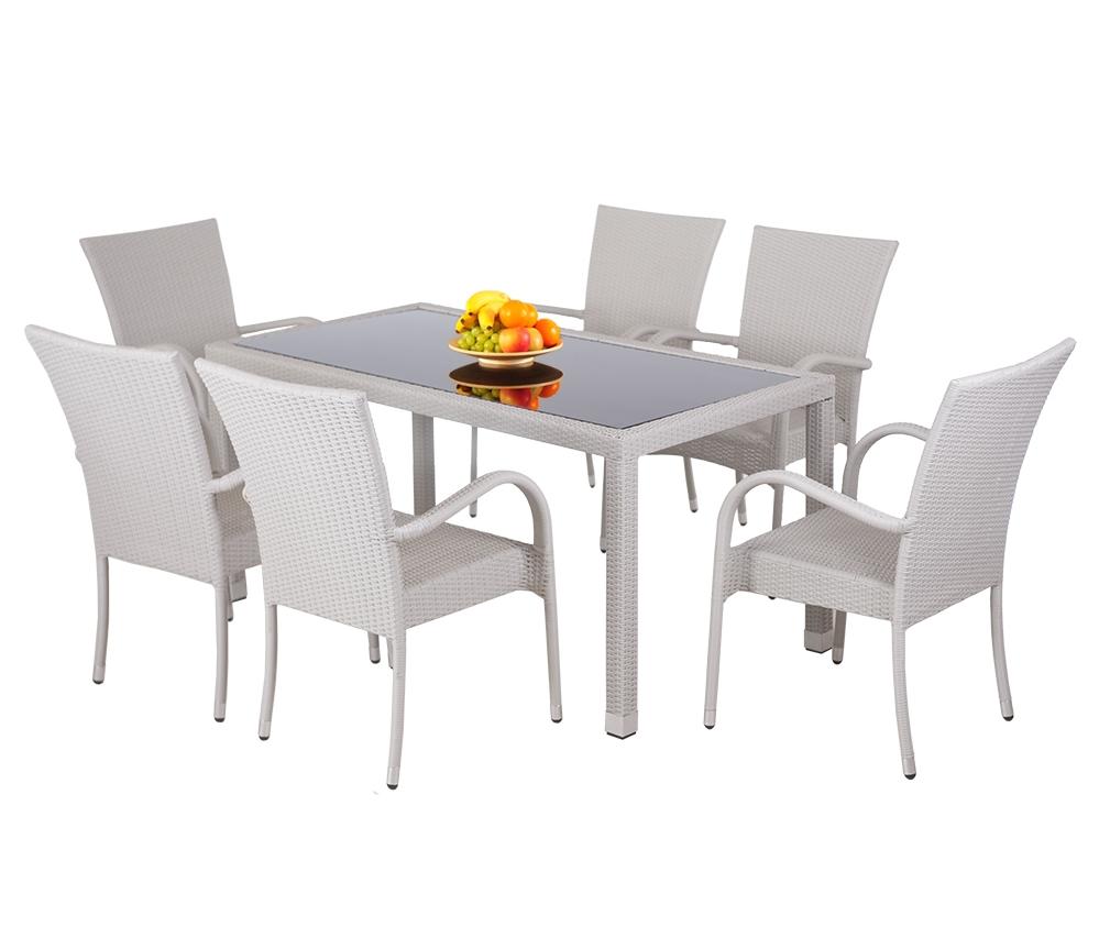 Zahradní sestava stolu s židlemi