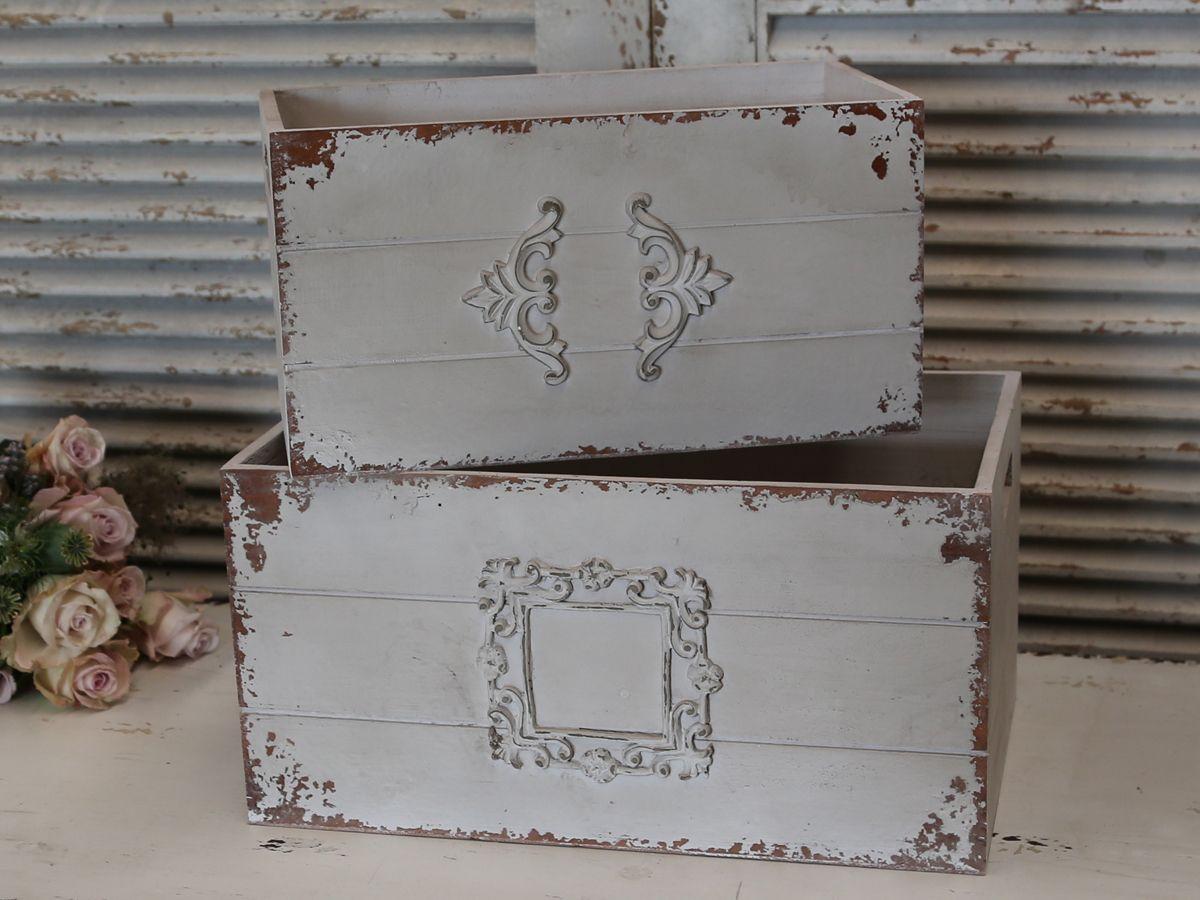 Dřevěný box Old French