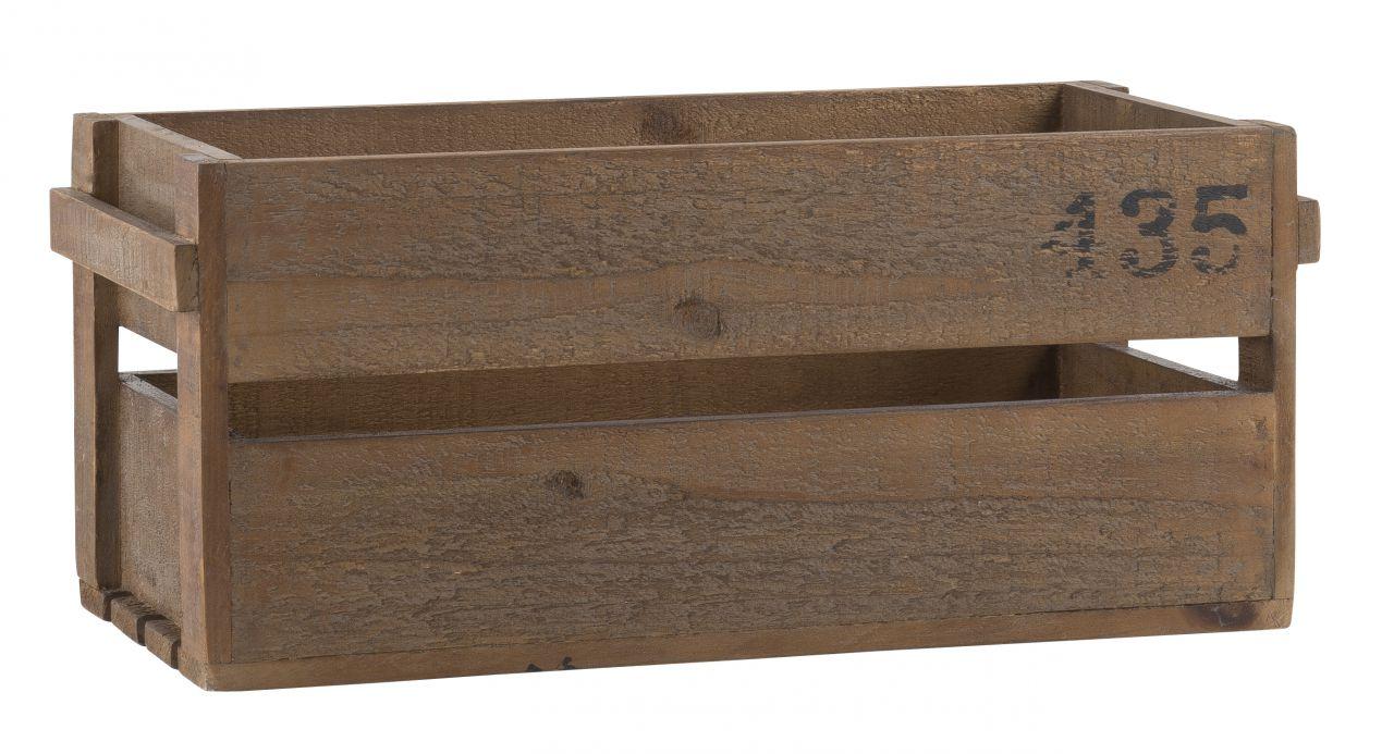 Dřevěný úložný box Ib Laursen