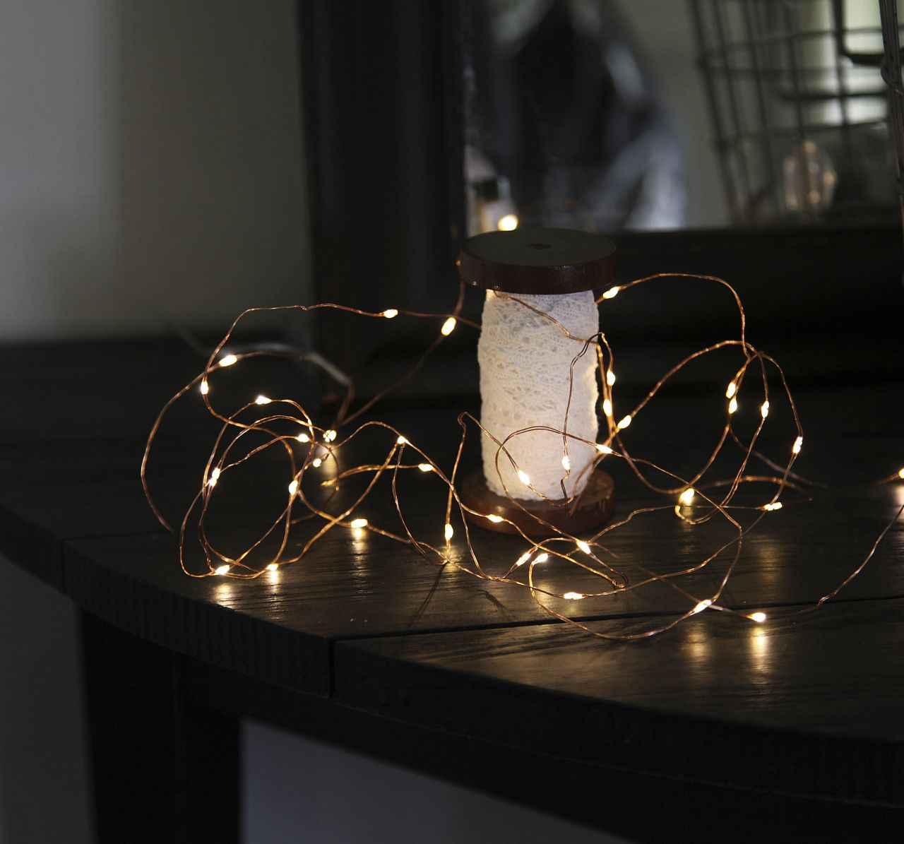 Světelný LED drátek