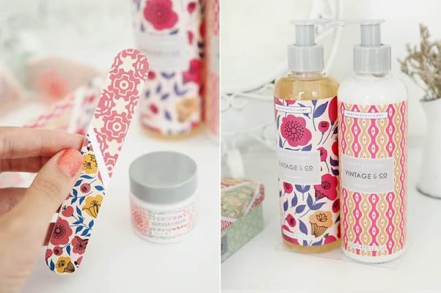 Dárková sada mýdla a krému na ruce Patterns & Petals
