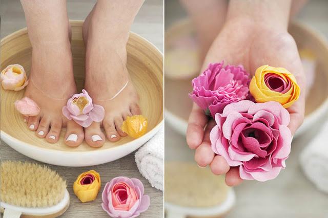 Mýdlové květy do koupele Lychee Sorbet