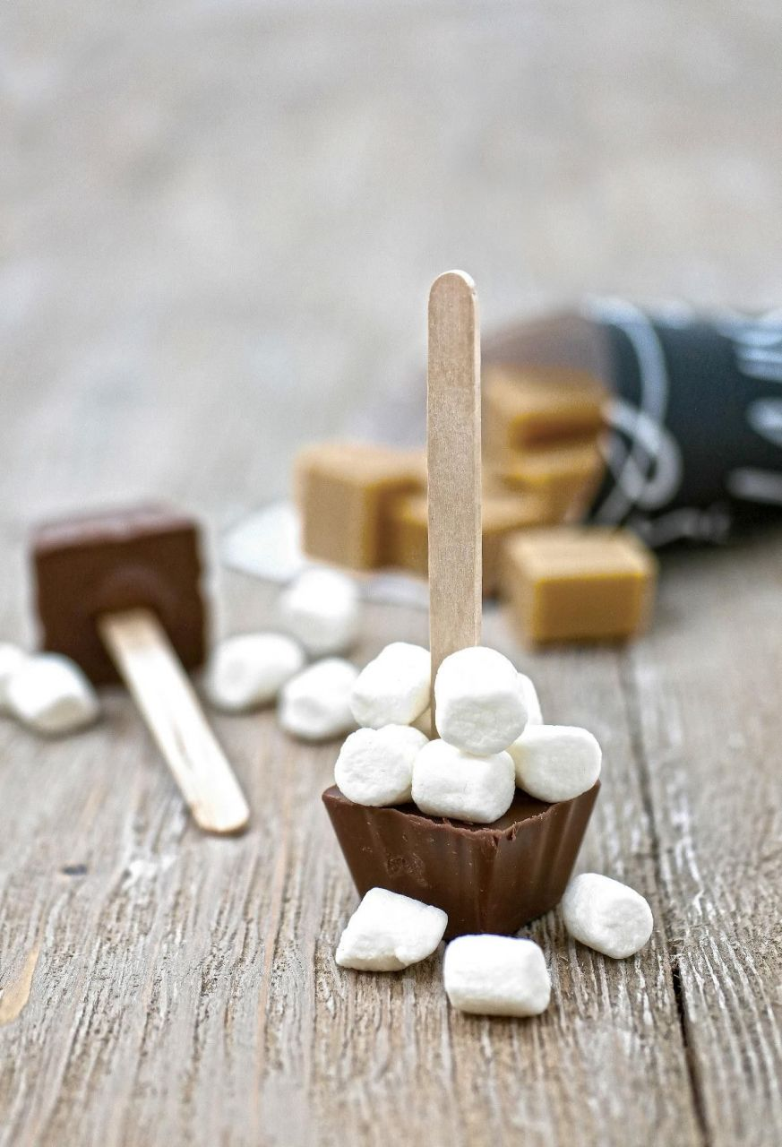 Čokoláda s marshmallows