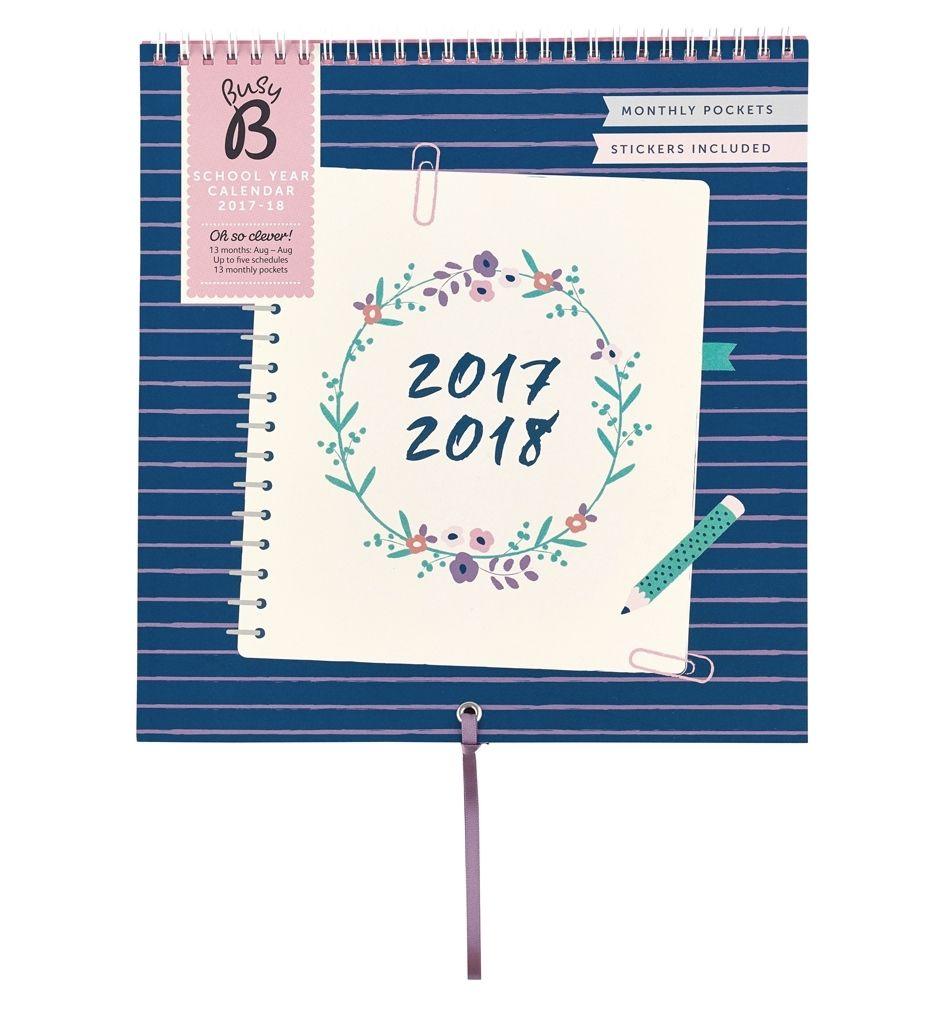 Měsíční plánovací kalendář