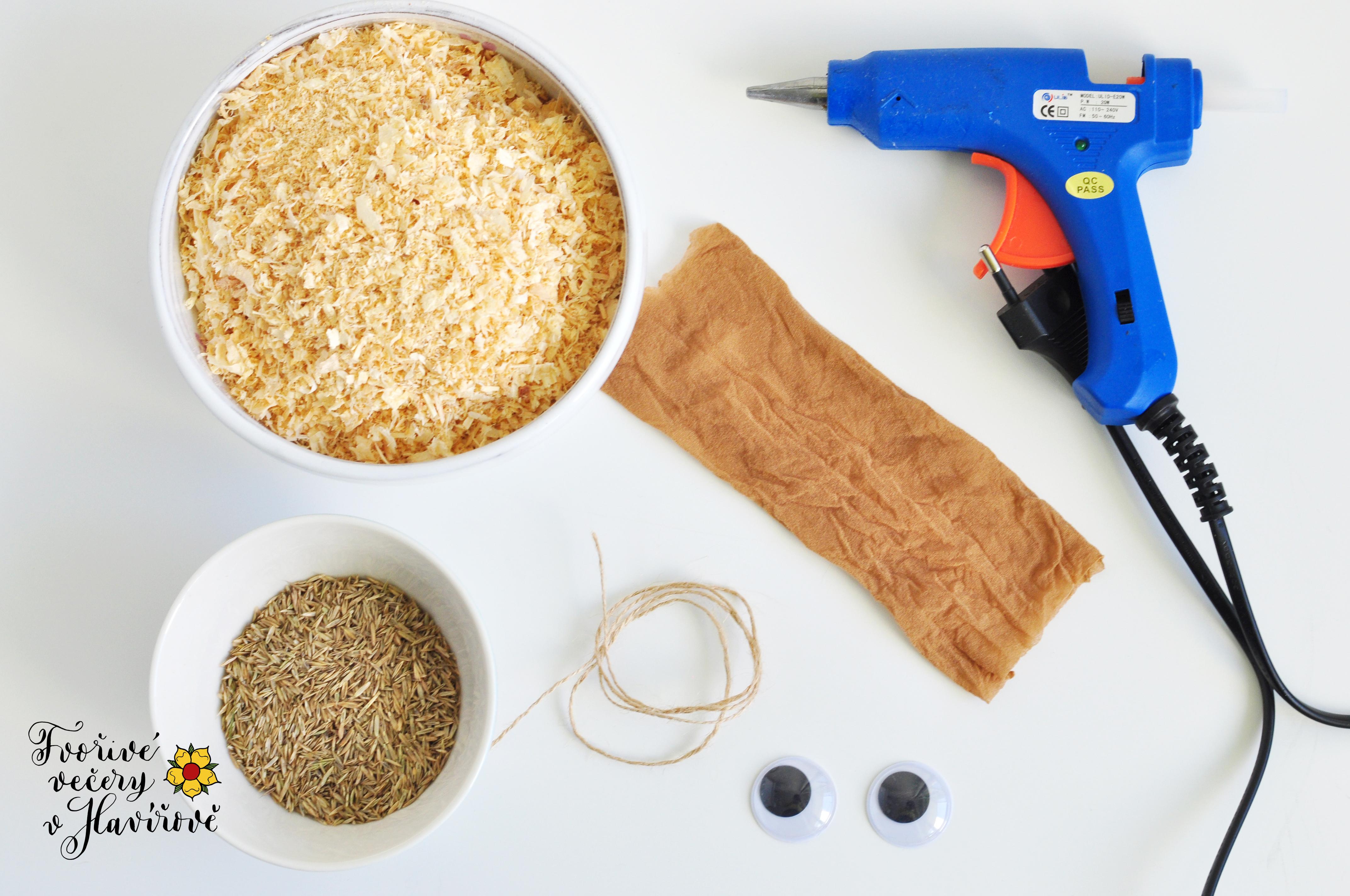Výroba travních panáčků