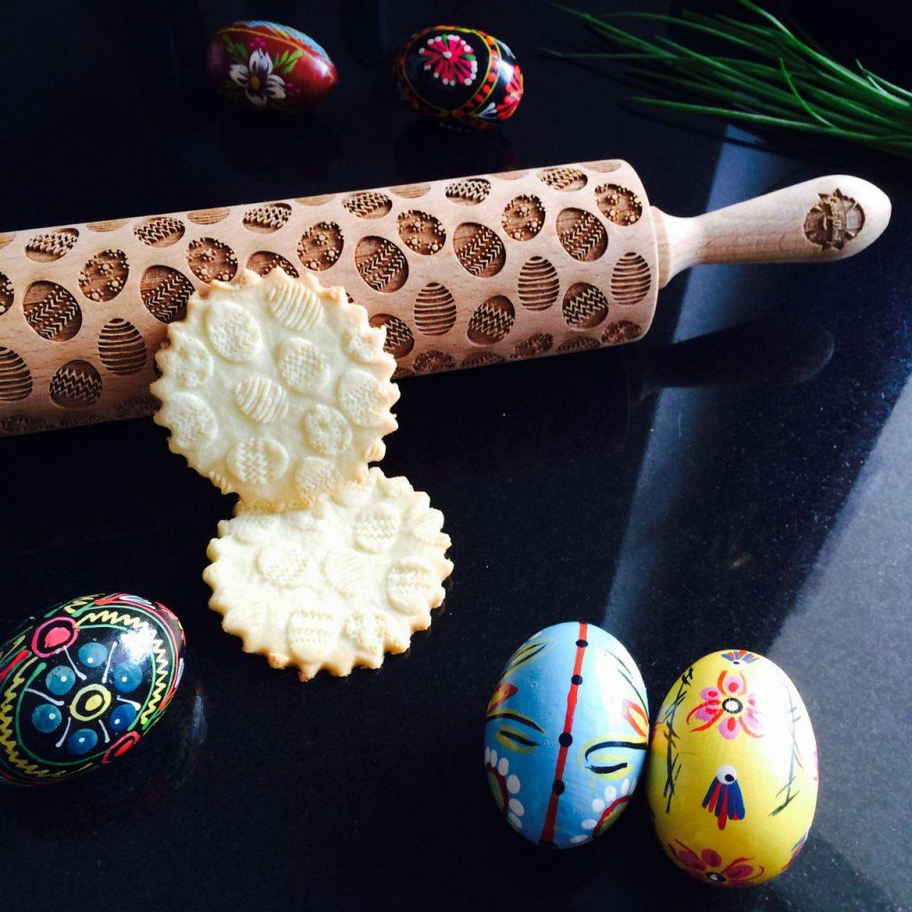 Velikonoční embosovaný váleček na těsto Easter Eggs