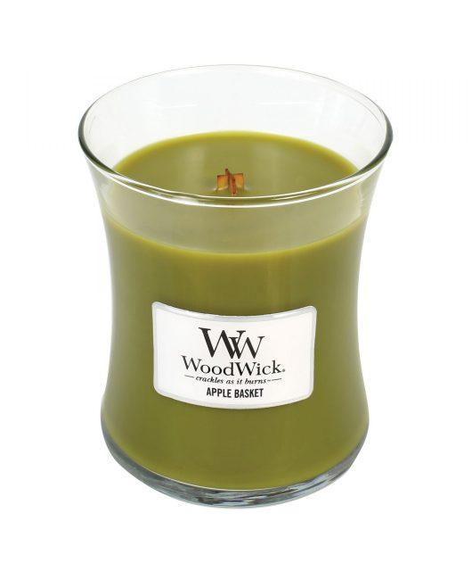 Vonná svíčka WoodWick Košík jablek