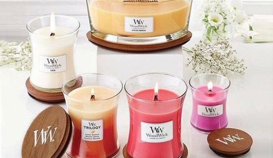 Svíčky s dřevěným knotem WoodWick