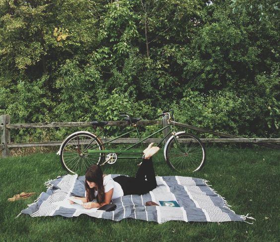 Výlet na kole letní přírodou je nej!