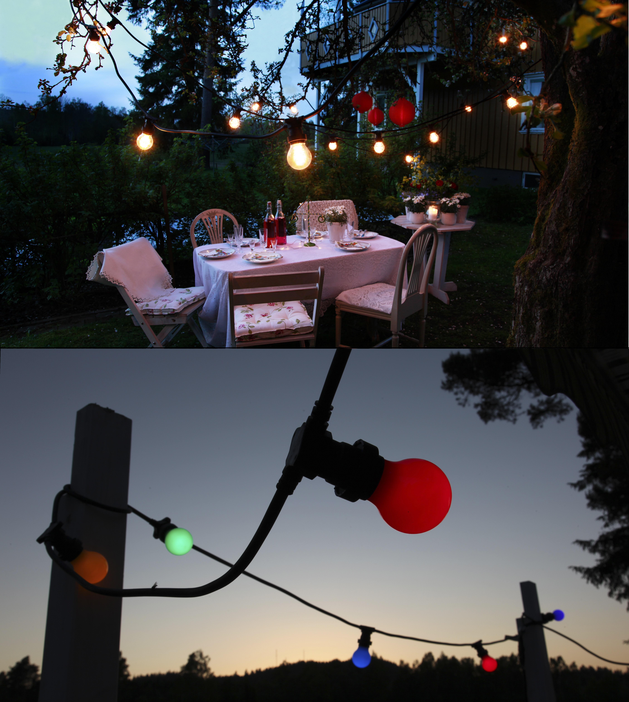Kábel s objímkami na vlastné žiarovky - ideálne riešenie!