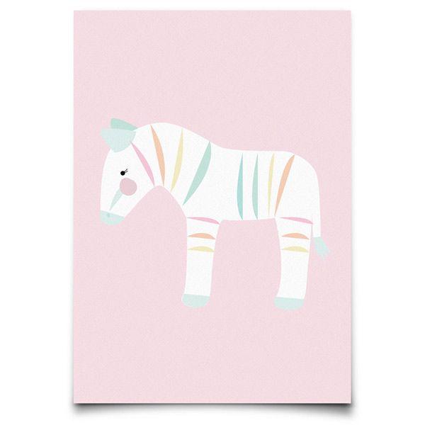 Pohľadnica zebra EEF Lillemor