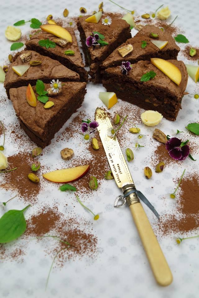 Vychutnejte si exotický dortík z pistácií a banánů