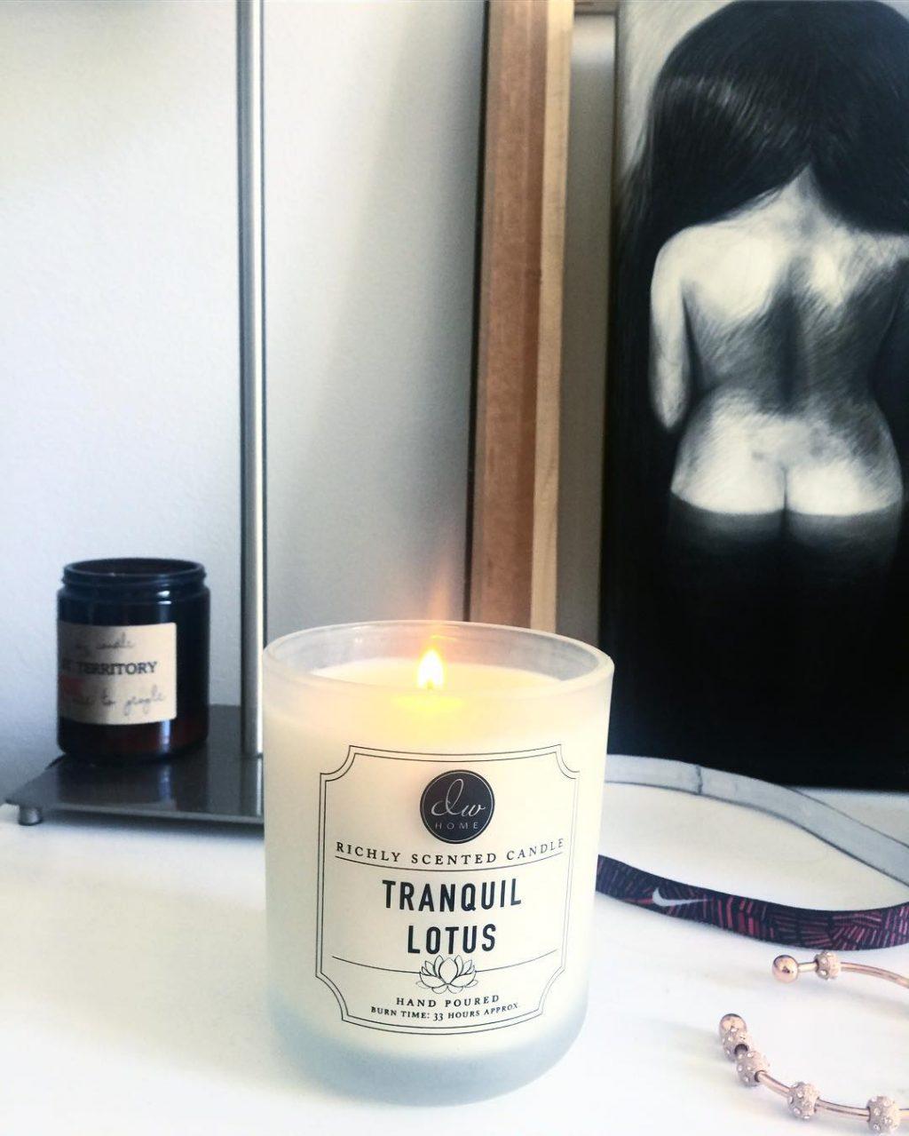 Ester miluje svíčky dw HOME