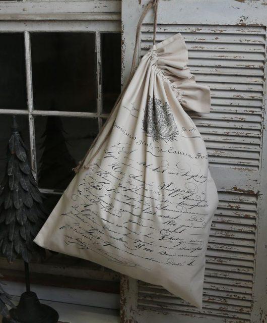Plátěný pytel French mail