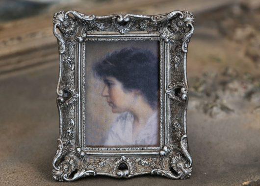 Fotorámeček Wood silver