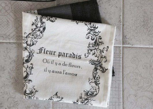 Kuchyňská utěrka French Printing
