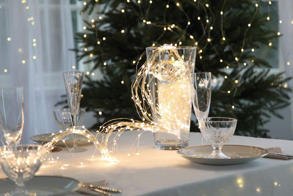 Vánoční řetězy pro nejkrásnější atmosféru.