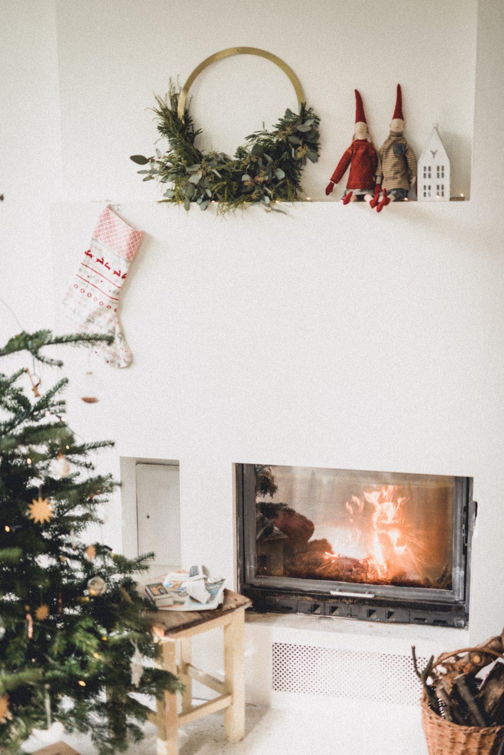 Skandinávské vánoční dekorace