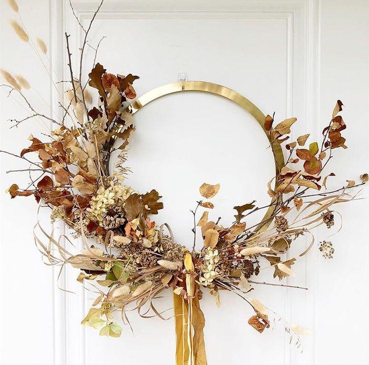 věnec na podzim