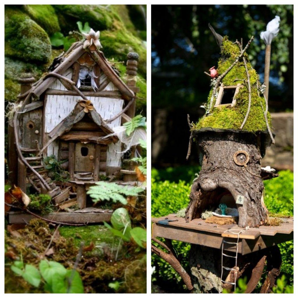 Lesní domečky pro skřítky