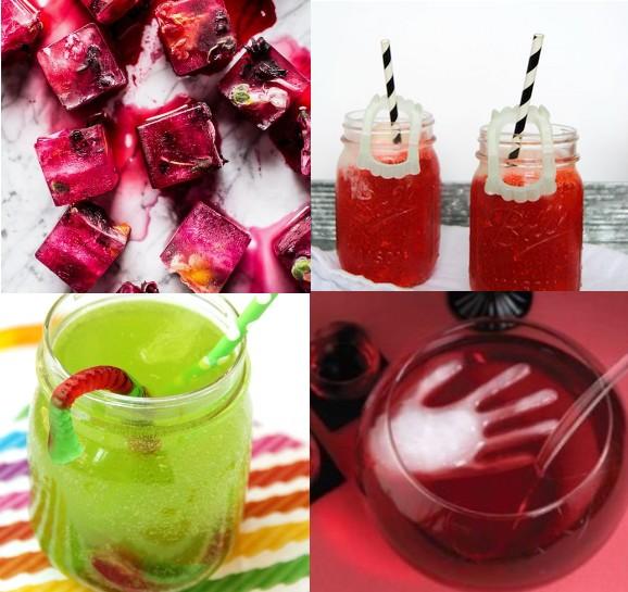 Inspirace z Pinterestu na halloweenské drinky