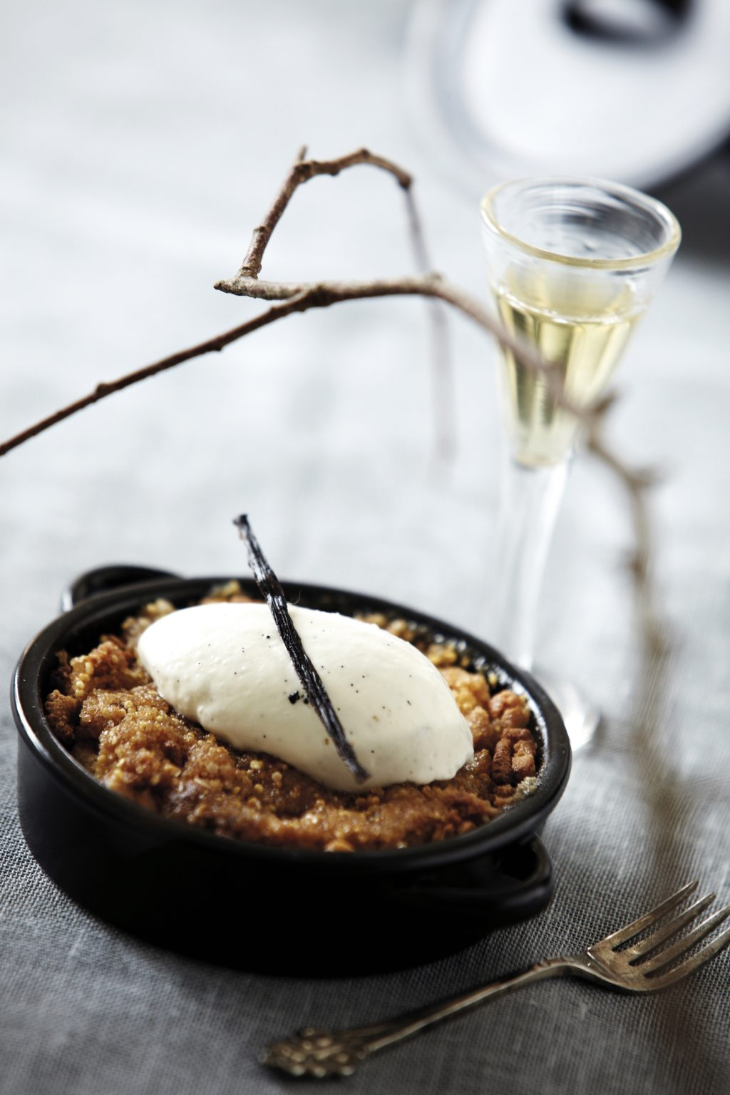 Recept od Nicolas Vahé Apple Crumble
