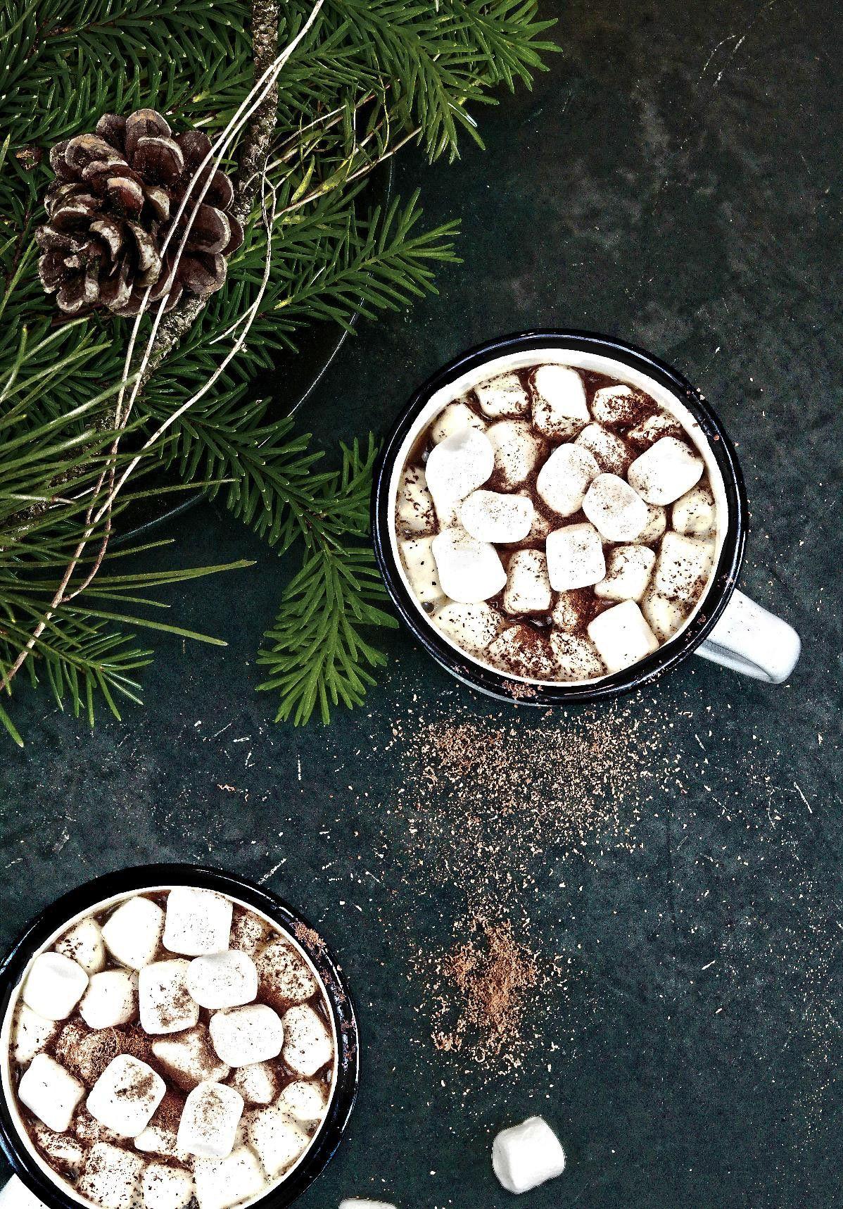 Ideální nápoj na zimu? Horká čokoláda s marshmallows!