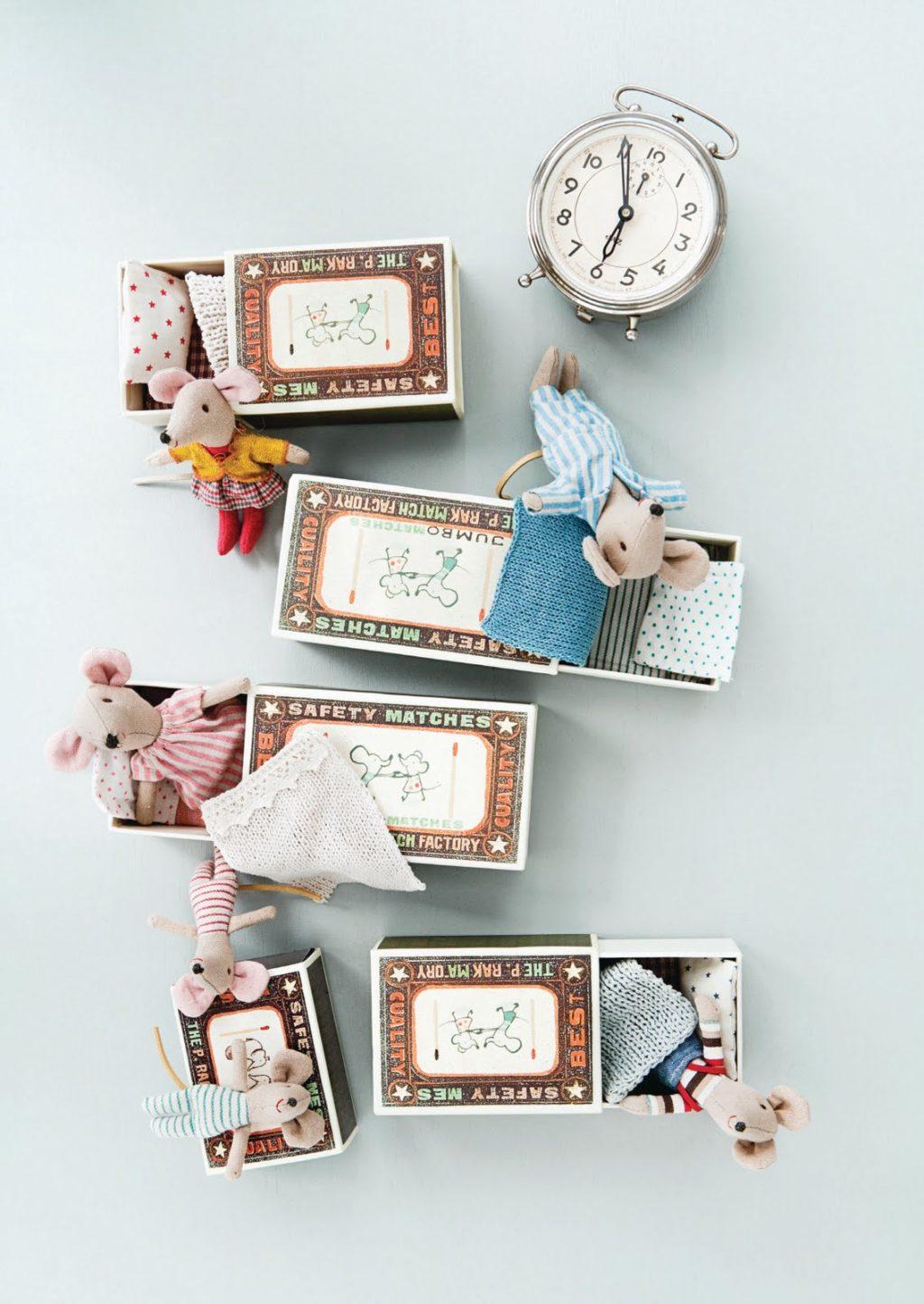 Miloučké Maileg myšky si získají každého drobečka!