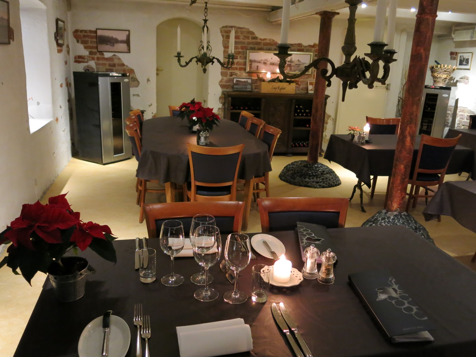 Restaurace Kolvig má dokonalou atmosféru.