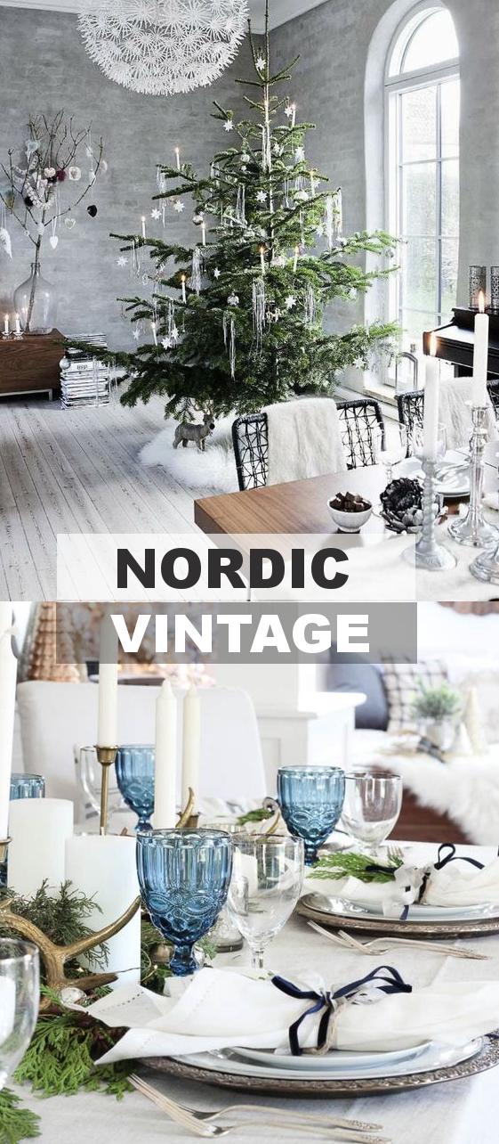 Skandinávský a vintage styl
