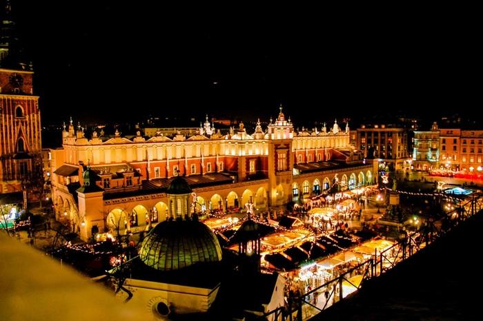 Vánoce v Krakowě