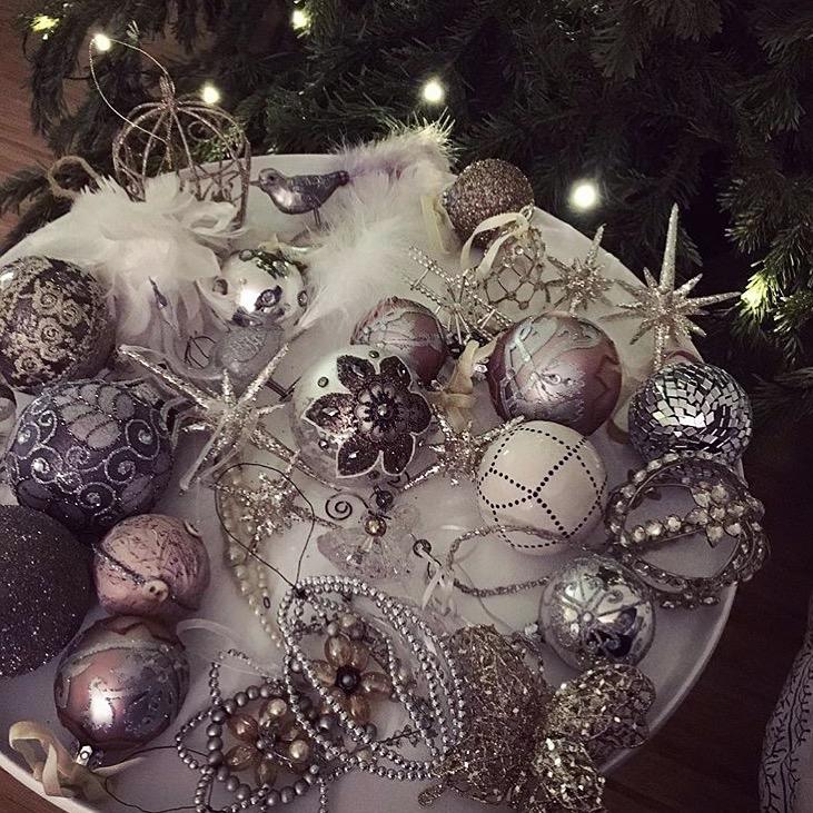 Skandinávské vánoční ozdoby