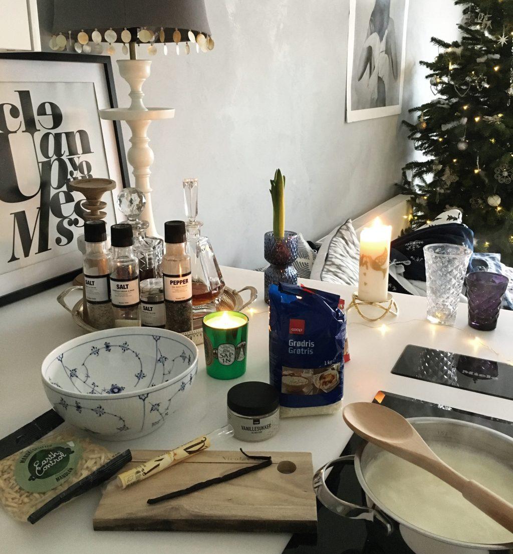 Príprava dánskeho dezertu Ris a la mande