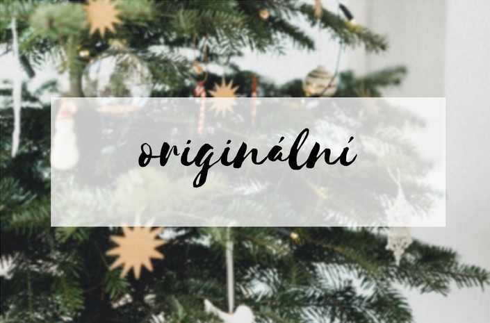 Originální vánoční ozdoby