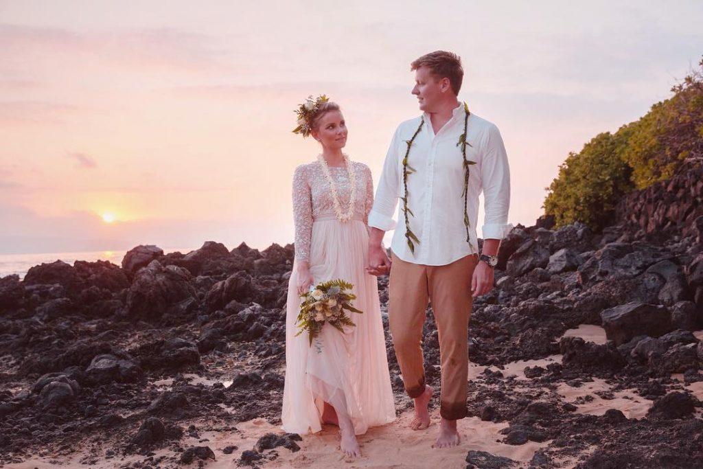 Janina si so svojím mužom povedali áno na Havaji