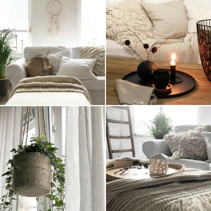 Obývací pokoj čtenářky Kamily