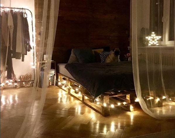 Světýlka jako bytová dekorace