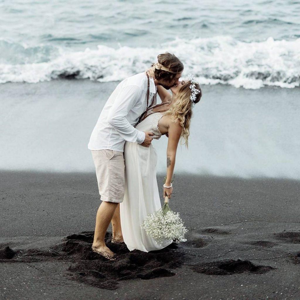 Romantická svatba na Bali