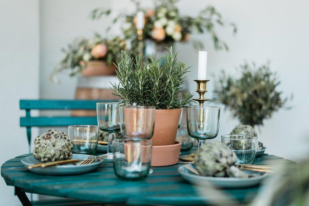Svadobné dekorácie a riad