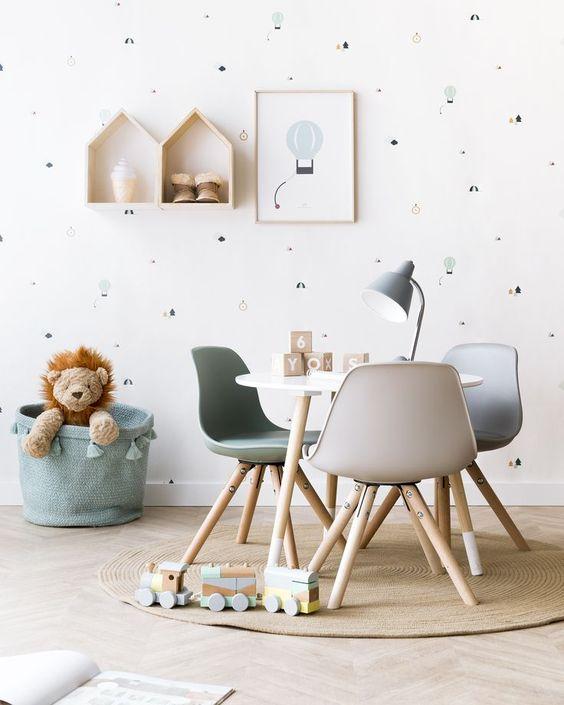 Ideální barva do dětského pokoje je mentolová