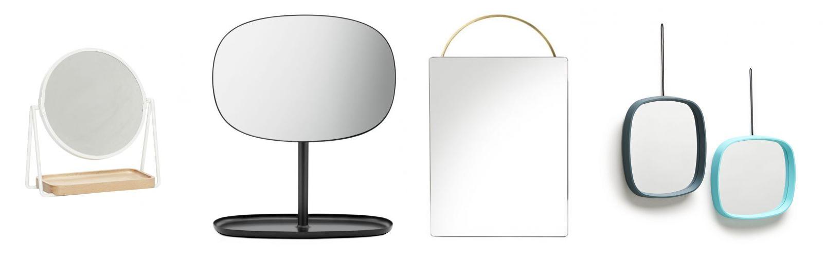 Dizajnové zrkadlá, stolné zrkadlá