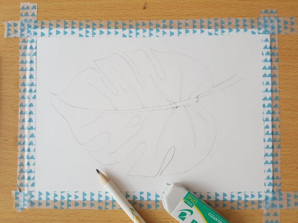 Jak začít s akvarelovou malbou?