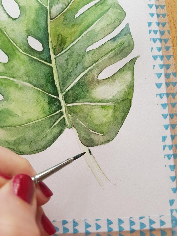 Jak začít malovat akvarelem
