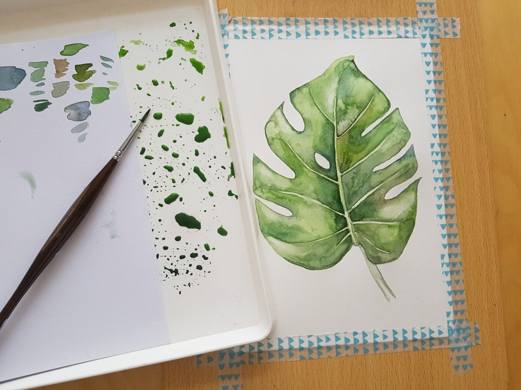 Jak malovat akvarelovými barvami