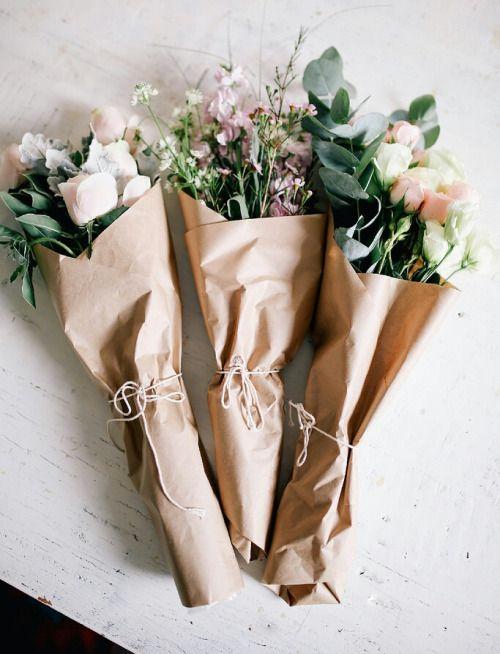 květiny v papíru